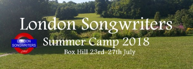London Songwriters Summer Camp 2018