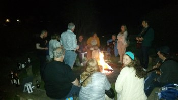 London Songwriters Summer Camp Firepit