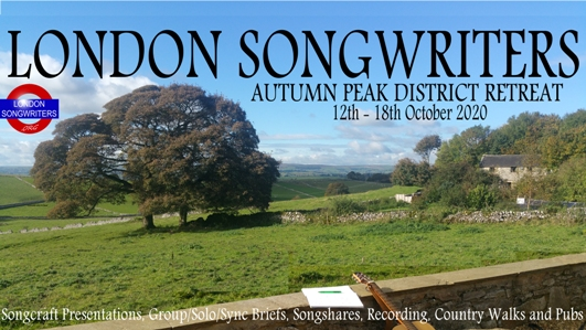 London Songwriters Retreat Autumn 2020