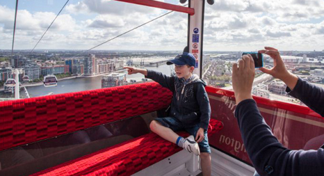 Ride The Emirates Air Line At Londons Royal Docks