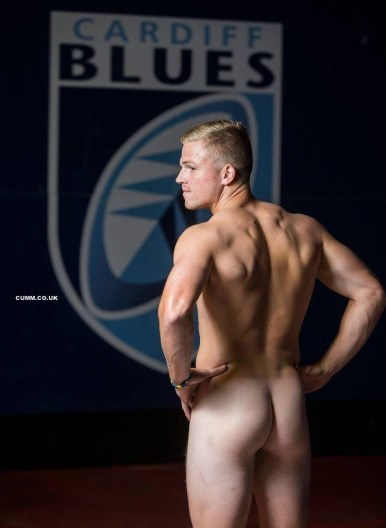 rugby cardiff blue beefy arse
