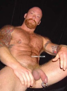albert prince ginger muscle hairy