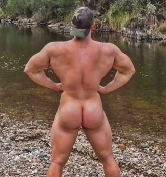 god arse muscle man