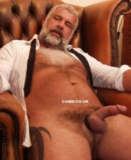 Big Mature Cock of the Month indian silver bear