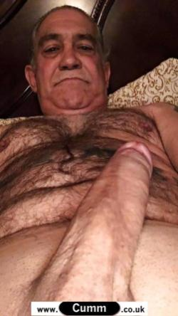 viagra silver daddy hairy hung
