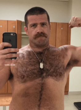 barechested muscle daddy