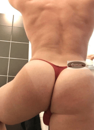 gay arse thong men bubble but