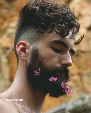 flowers and beards