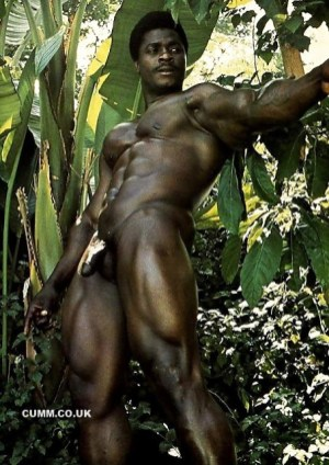 trees and men natural african man nude