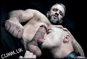 lick daddy cock boy