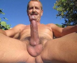 old daddy silver mature-men-8 Older Men with Huge Cocks Outdoors
