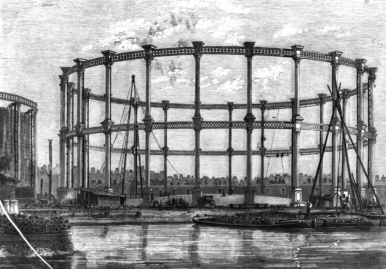 Imperial Gasworks 1858, Hulton Archive - Getty
