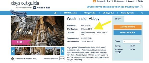Visita le migliori attrazioni di Londra con le offerte 2x1