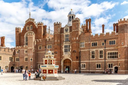 Palacio De Hampton Court + Castelo De Windsor