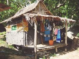 Huisje op strand Thailand Koh Phangan