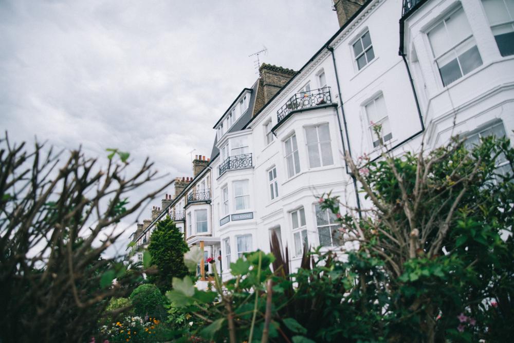 Beach houses Southend-on-sea