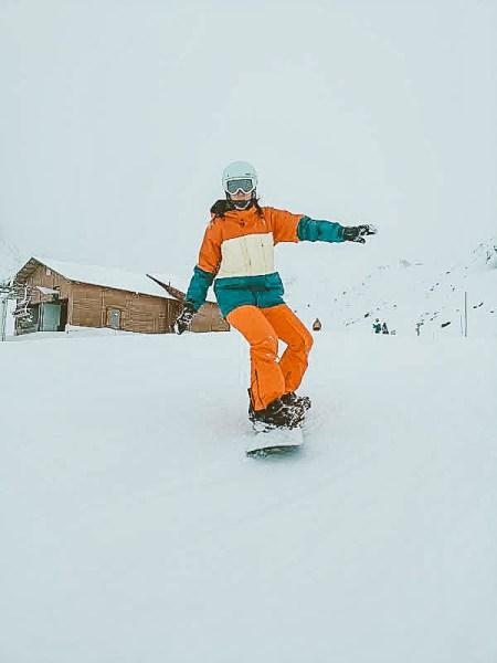 snowboarden Val Thorens