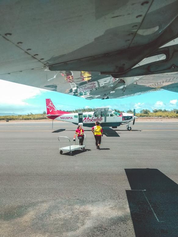 Vliegveld Maui Mokulele Airlines