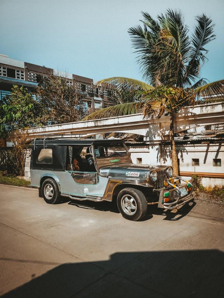 jeepney in de filipijnen