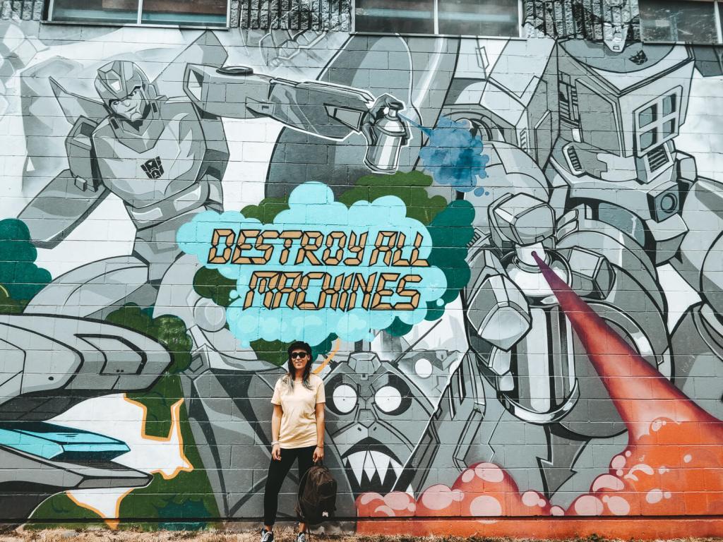 reisblogger voor street art in vancouver