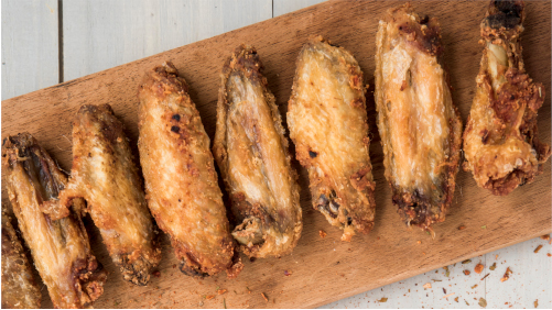 One of our favorite bar foods is chicken wings. We've tried them a bunch of different ways, but time and time again, we go back to the baked wings. They're crispy, flavorful, and healthy. We'll share with you how to make these perfect baked chicken wings.