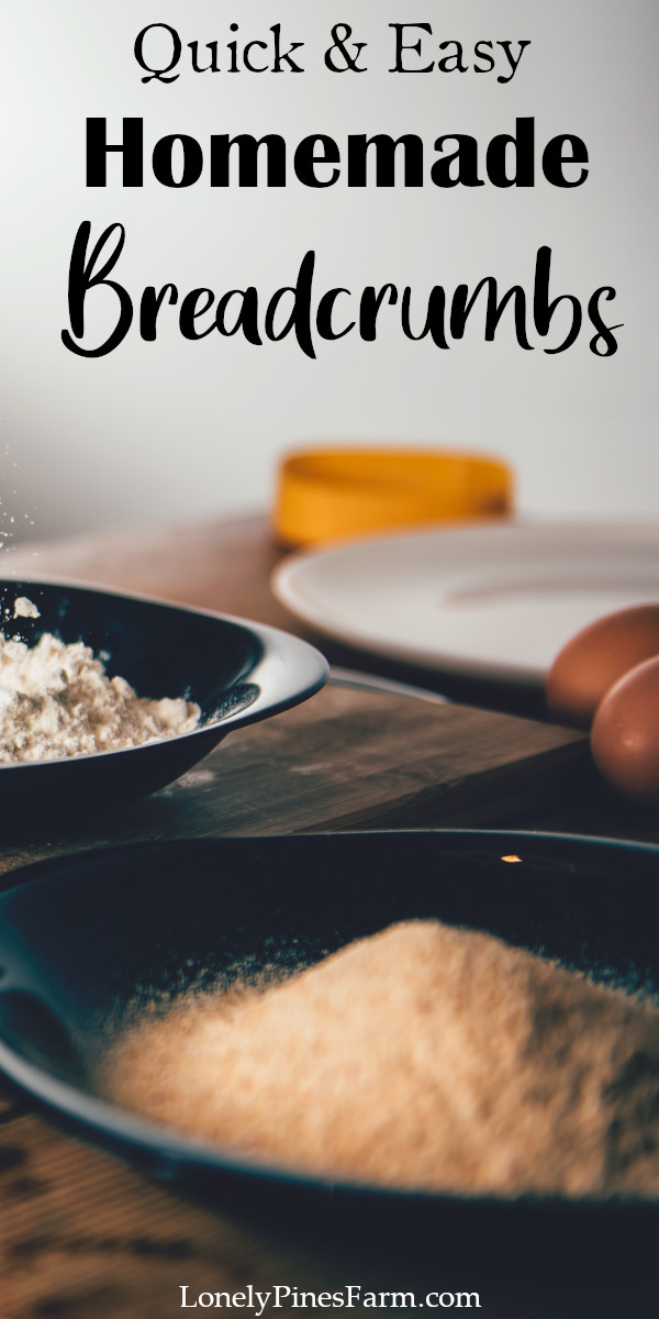 Don't let leftover bread go to waste! Instead, try making these simple toasted breadcrumbs. You can use them as a crunchy topping for casseroles, coating for chicken, or mix-in for meatballs. The possibilities are endless!