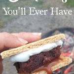With summer upon us, what better time to improve your campfire treats. I can promise, these are the best s'mores you'll ever have! They're full of salty, caramelly, fudgey goodness. So decadent - you won't want to share - yet so rich - you can't have more than one! They make the perfect dessert for holiday cookouts & BBQs.
