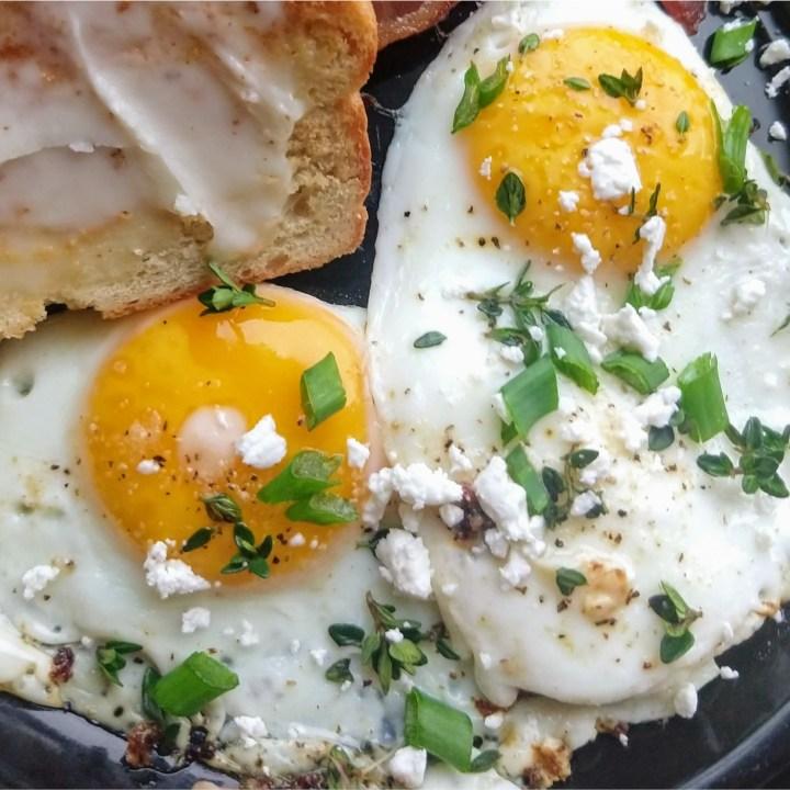 Three Easy Herbed Egg Recipes