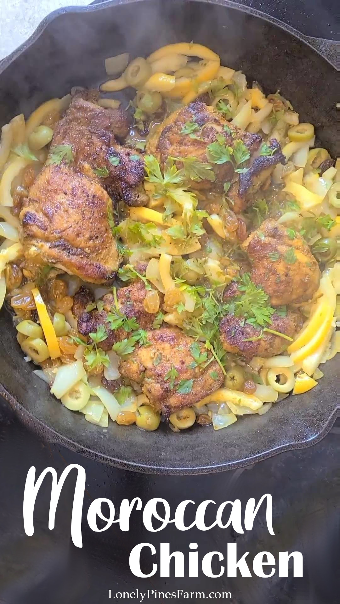 This chicken dish is so flavorful - the perfect introduction to Moroccan food! It features complex flavors, melding together to form an incredible meal. Even better, the ease of this one-pot dish makes it perfect for any night of the week!