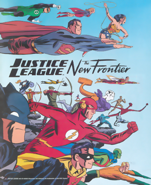 JL - The New Frontier Poster
