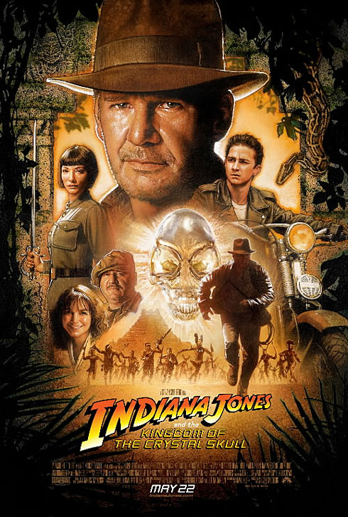 Indiana Jones One Sheet