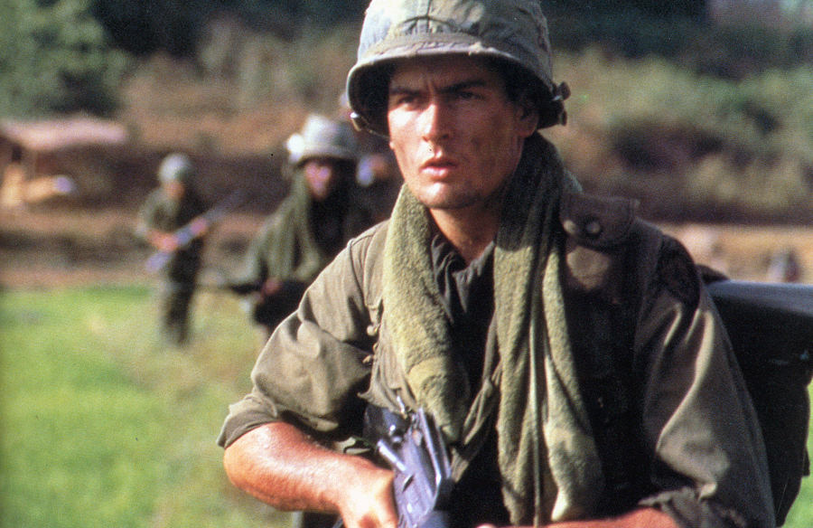Remember when top 5 charlie sheen movies lonely reviewer oliver stones personal film based on his own time as an infantryman in the vietnam war sheen plays chris taylor a young man who quit college to serve in thecheapjerseys Choice Image