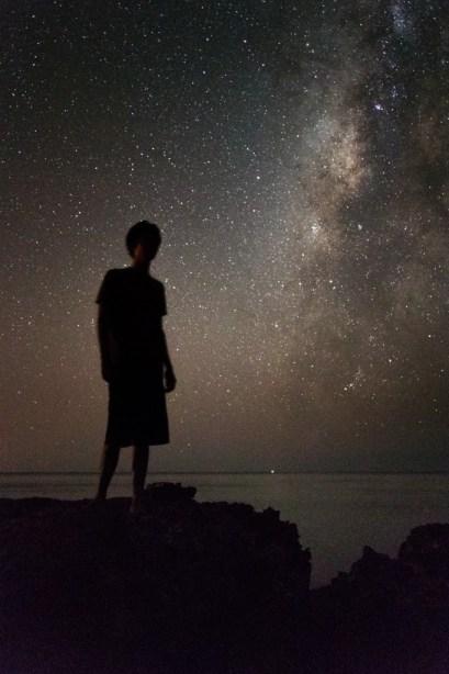 Nate Milky Way Kaena Point