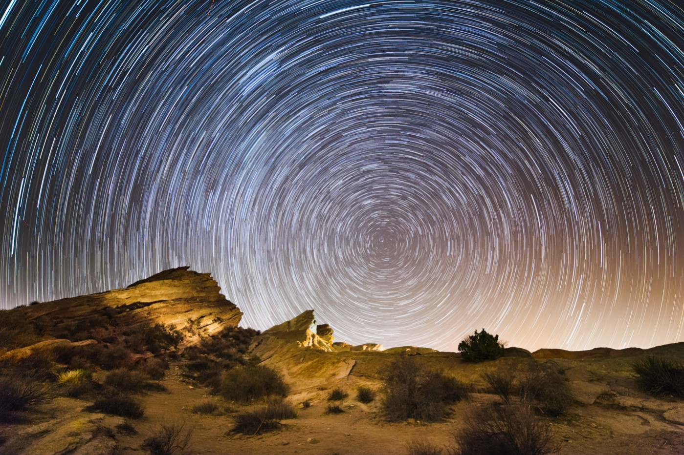 Star Trails with an Intervalometer