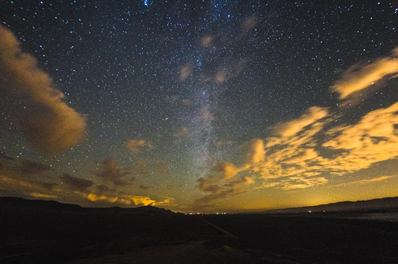 Cassiopée et la voie lactée