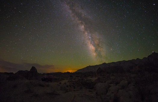 Fujifilm X-E1, Rokinon 8mm f/2.8 Fisheye - Alabama Hills, California