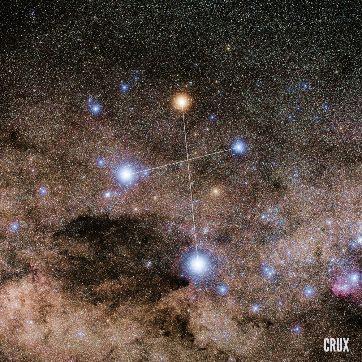 La constellation de la croix