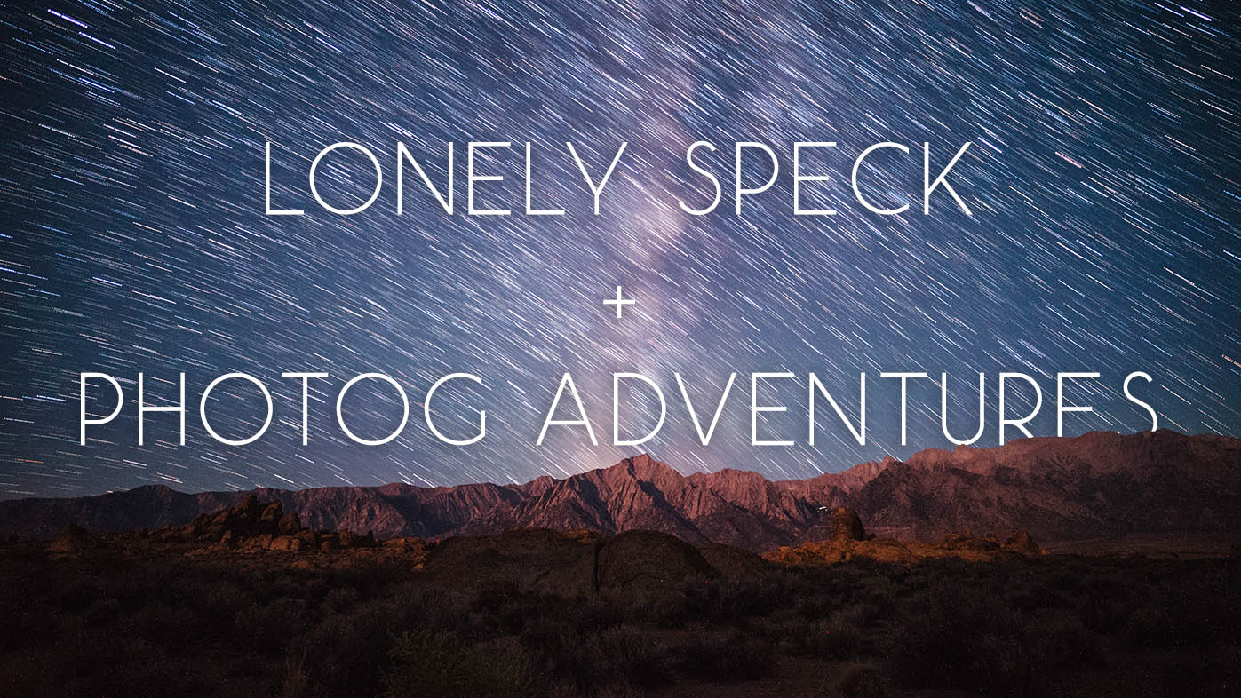 Lonely Speck on the Photog Adventures Podcast