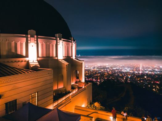 Griffith Observatory, Los Angeles. HTC U11. 2s, f/1.7, ISO 100