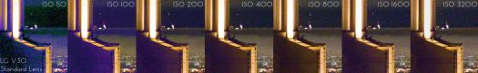 LG V320 ISO Invariance Test (Standard Lens Camera)