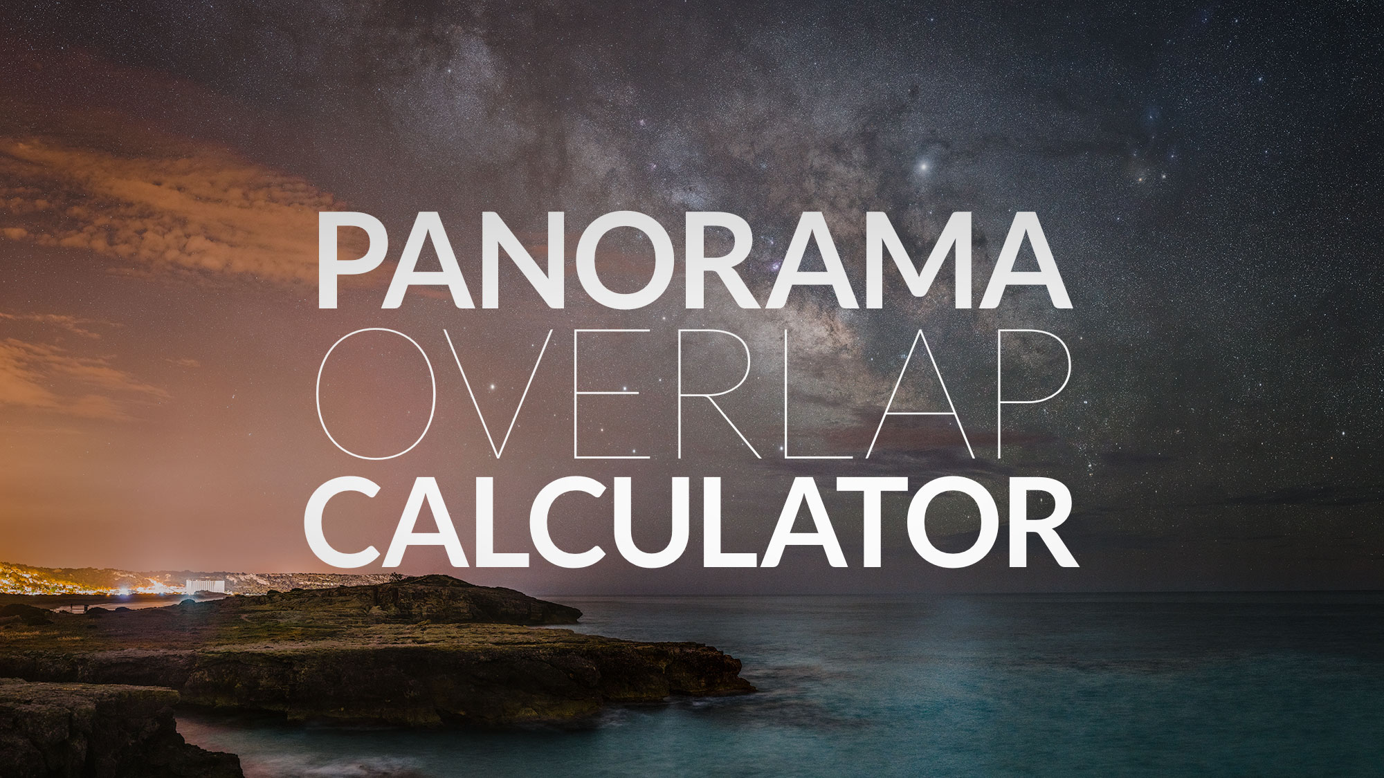 Panorama Overlap Calculator