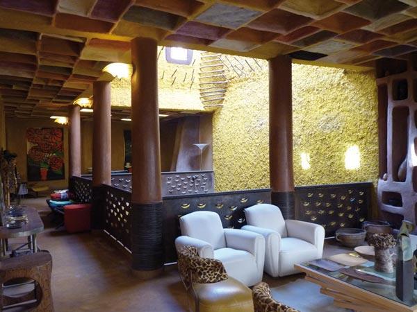 Marrakech, interno di un Riad Hotel
