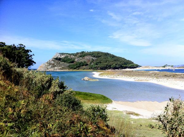 Nell'area del camping c'è una vista mozzafiato sulle isole