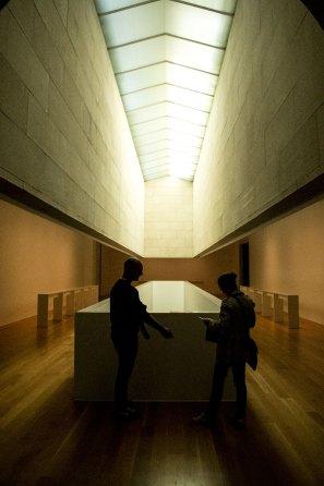 Vigo, interno del MARCO, il Museo di Arte Contemporanea di Vigo