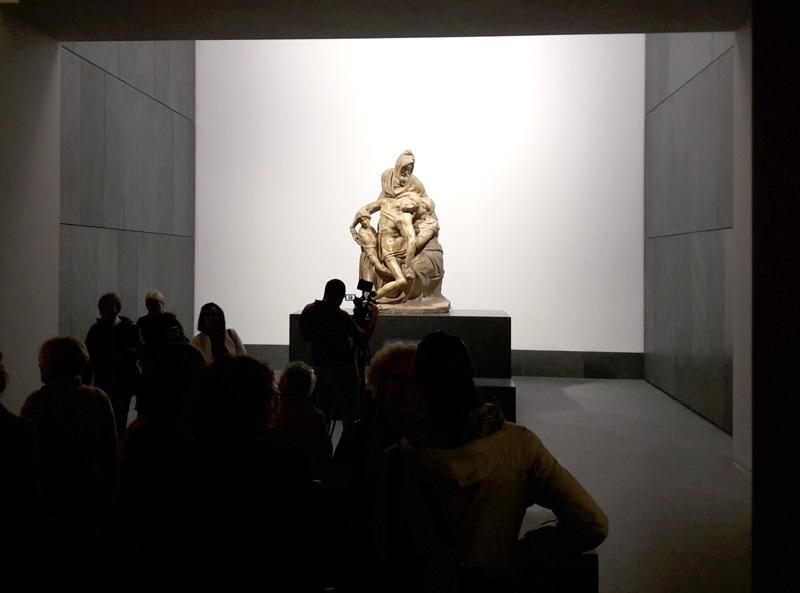 Grande Museo del Duomo, la Pietà di Michelangelo