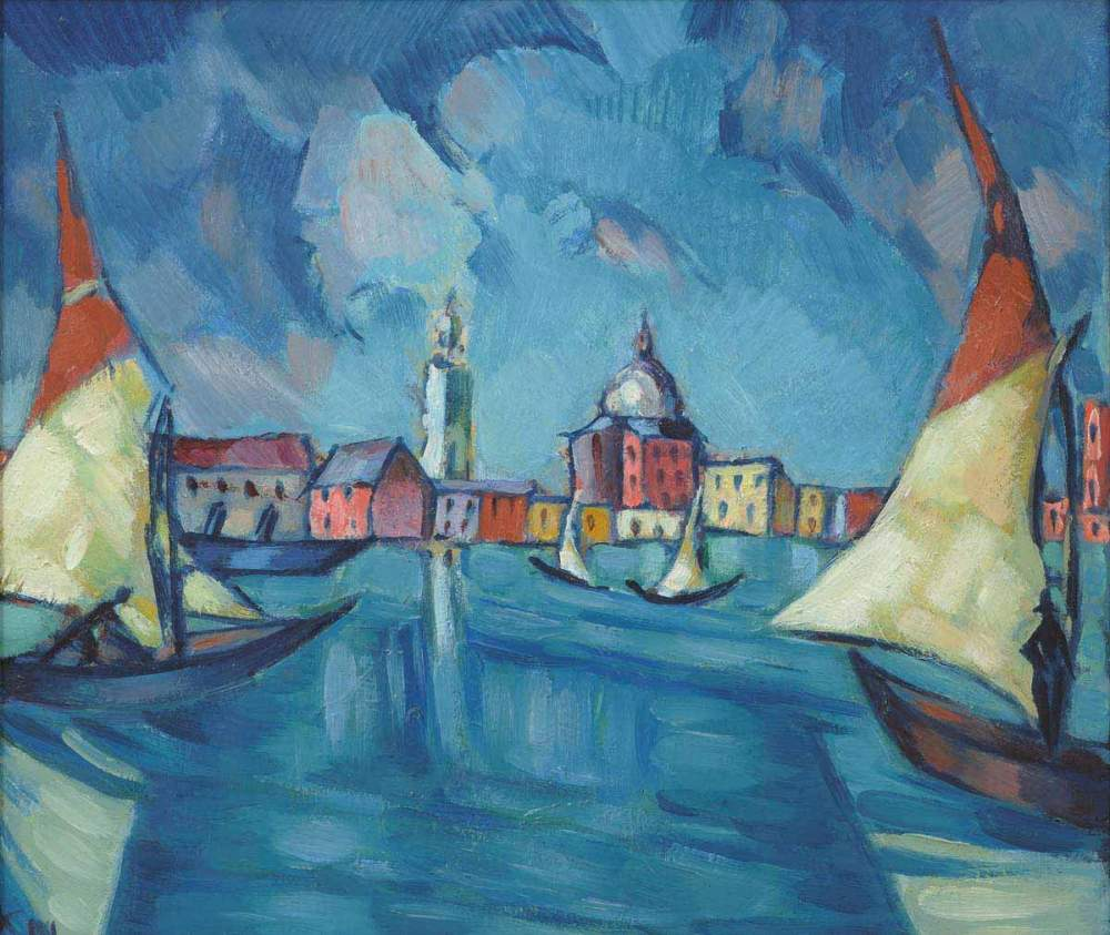 Konrad Mägi, <em>Venezia</em>
