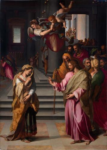 Allori, Cristo e l'Adultera