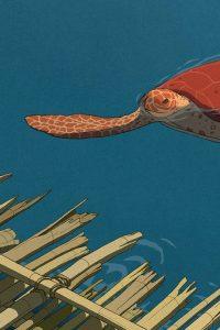 La tartaruga rossa di Michael Dudok de Wit