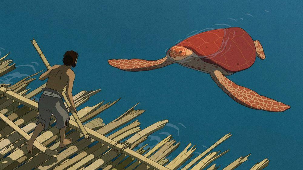 <em>La tartaruga rossa</em> di Michael Dudok de Wit