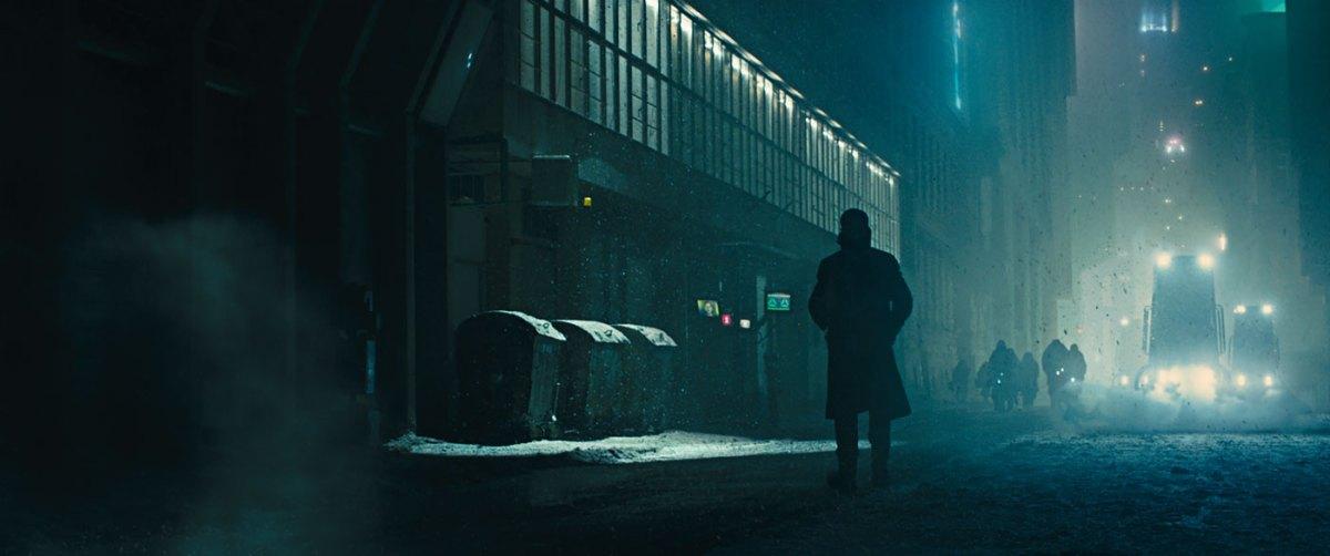 Una scena di Blade Runner 2049